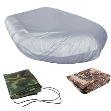 Premium Waterproof Inflatable Rib Boat Cover UV Protector Fits Up to 4.7m/15.4ft