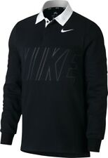 Nike SB Dry Fit Rugby Top Mens in Black White