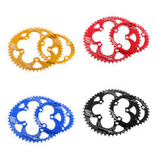 Bike Chainring Set Double Oval Chainring BCD 110mm Bicycle Chain Ring 35/50T