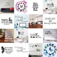 Family Quote Removable Wall Sticker Art Vinyl Decal Mural Home Bedroom Décor DIY