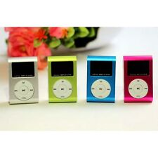 New USB Mini Clip MP3 Player LCD Screen Support 8GB/16GB/32GB Micro SD TF Card
