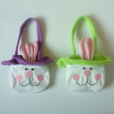 Easter Rabbit Bunny Candy Gift Bags Egg Basket Easter Holiday Decor Favors