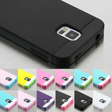 Hybrid Hard ShockProof Rubber Plastic TPU Case Cover For Samsung Galaxy S5 G900