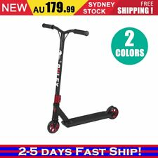 Deluxe Scooter Black Scooter Commuter Scooter Adult Kids Christmas BLACK/RED UP