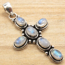 925 Silver Plated ETHNIC CROSS Pendant ! Nouveau Online Jewelry Store