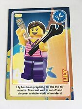 Lego Cards Sainsburys Create The World Minifigure Trading Card Free Post