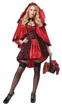Womens Fiery Red Riding Hood Costume, Sexy Red Riding Hood Costume