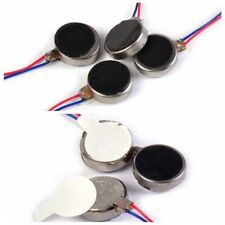 10/20pcs DC 3V Pager Mobile Cell Phone Coin Flat Vibrating Vibration Micro Motor
