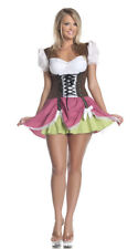 Womens Plus Size Swiss Girl Costume, Beer Girl Costume