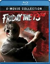 Friday the 13th the Ultimate Coll 1-8 - Blu-Ray Region 1 Free Shipping!