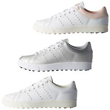 2018 Adidas Womens Adicross Classic Spikeless Golf Shoes - New Ladies Leather