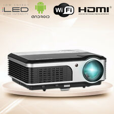 LCD LED Home Cinema Projector Full HD 1080P WiFi Game Online TV Movie USB HDMI