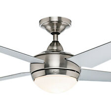 """NEW Hunter Sonic Contemporary 52"""" Ceiling Fan with Light"""