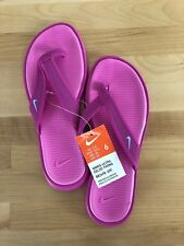 Nike Ultra Celso Thong Women's Fire Pink Flip Flops - Sizes 6-11 Available