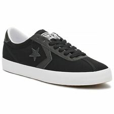 Converse Breakpoint Ox Black White Womens Canvas Low-top Trainers