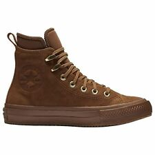 Converse Chuck Taylor All Star Waterproof Boot Hi Brown Women Nubuck Ankle Boots