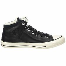 Converse Chuck Taylor All Star High Street Hi Black Men Leather Trainers 157472C