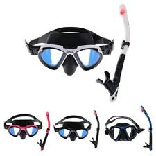 Scuba Diving Snorkeling Swimming Anti-Fog Mask and Dry Snorkel Set Dive Gear