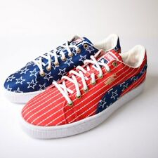 NEW PUMA Basket Classic 4th of July Little Boys Patriotic Sneakers SELECT SIZE