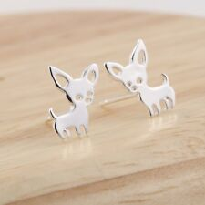 Lovely Christmas Cute Pet Chihuahua Jewelry Dog Stud Earring Ear Accessories
