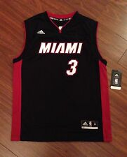 Dwyane Wade Miami Heat Youth Adidas Replica Jersey New With Tags