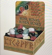 GEMSTONE AND WOODEN RUNES BY LO SCARABEO