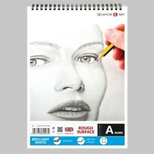 160gsm Sketch Pad Rough White Drawing Artist Paper on SPIRAL Book