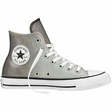 Converse Chuck Taylor All Star Hi Ash Grey Black Women Canvas High-tops Trainers