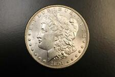 1891 CC CARSON CITY MORGAN SILVER DOLLAR 90% UNITED STATES Semi Key