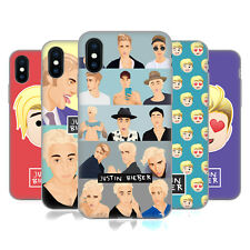 OFFICIAL JUSTIN BIEBER JUSTMOJIS SOFT GEL CASE FOR APPLE iPHONE PHONES