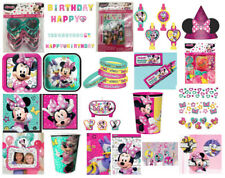 Disney Minnie Mouse Party Decorations, Tableware and Novelties
