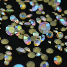 Mixed Sizes Rhinestones Point back Crystal AB Glass Strass Nail Art Chatons