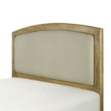 Crosley Cambria Full/Queen Headboard, Weathered Pine/Crème - CF91001-501WP-CR