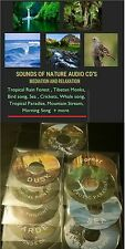 RAIN FOREST  NATURE SOUND AUDIO CD CRICKET TROPICAL SEA #Meditation #Relaxation