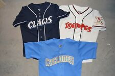 Choice of: Dead Stock YOUTH LARGE Minor League College Throwback Baseball Jersey