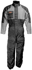 FirstGear Thermo Waterproof Textile 1-pc Suit Black/Gunmetal