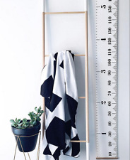 Baby Kids Growth Chart Hanging Height Canvas Ruler Wall Decals Children 20*200cm