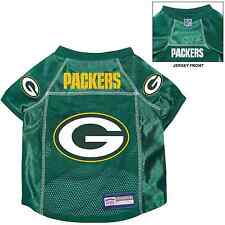 NEW GREEN BAY PACKERS PET DOG PREMIUM NFL ALTERNATE JERSEY w/NAME TAG