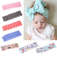 DIY Bowknot Headband Cute Kids Baby Girls Hair Bow Clips Barrette Accessories OZ