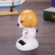 Solar Powered Dancing Toy Dog Car Creative Swing Animated Doll Ornament Gift