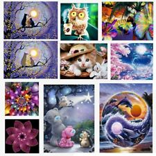 5D Diamond Embroidery Painting DIY Animal Art Stitch Craft Kit Cross Wall Decor