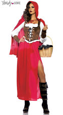 Womens Sexy Red Riding Hood Costume, Adult Red Riding Hood Costume
