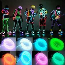 Neon Light Wire Party Dance Led Car Flexible Controller Glow Strip Rope Decor