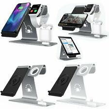 3in1 Qi Wireless Charging Dock Stand For iphone X 8/8Plus Apple Watch, Airpods.
