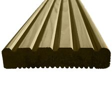 Treated Wooden Timber Decking Boards 1.8m - 3.6m Lengths Garden Wood Decking