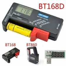 AA AAA 9V 1.5V Universal Button Cell Battery Volt Tester Checker Indicator XJ
