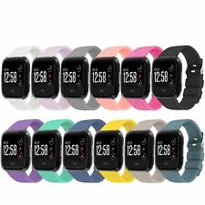 S/L Replacement Bands for Fitbit Versa Smartwatch Fitness Rubber Wristbands