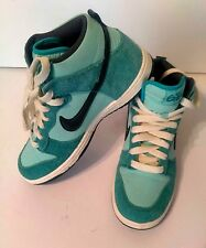 Nike Dunk High 6.0 Women's Turquoise Athletic Sneakers Size 8.5 #342257-303