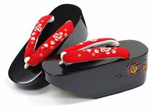 Women's sandals geta Maiko Sandal strap Traditional style Japanese Kyoto NEW