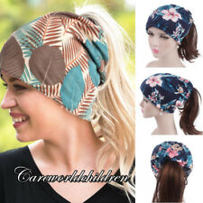 Muslim Islamic Women Floral Hat India Ruffle Turban Cap Headscarf Wrap Chemo Cap